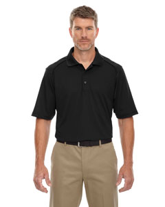 Black 703 Eperformance™ Men's Shield Snag Protection Short-Sleeve Polo