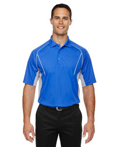Lt Naut Blu 417 Eperformance™ Men's Parallel Snag Protection Polo with Piping