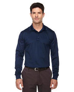 Classic Navy 849 Eperformance™ Men's Tall Armour Snag Protection Long-Sleeve Polo