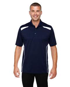 Classic Navy 849 Eperformance™ Men's Tempo Recycled Polyester Performance Textured Polo