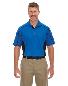 True Royal 438 Eperformance™ Men's Fuse Snag Protection Plus Colorblock Polo