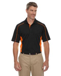 Black/orange 468 Eperformance™ Men's Tall Fuse Snag Protection Plus Colorblock Polo