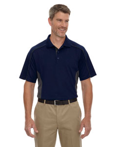 Classic Navy 849 Eperformance™ Men's Tall Fuse Snag Protection Plus Colorblock Polo