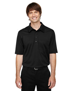 Black 703 Eperformance™ Men's Tall Shift Snag Protection Plus Polo