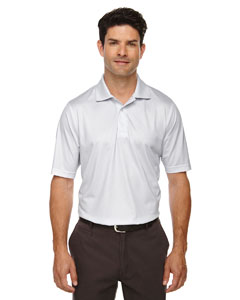 Silver 674 Eperformance™ Men's Launch Snag Protection Striped Polo
