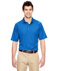 Lt Naut Blu 417 Eperformance™ Men's Propel Interlock Polo with Contrast Tape