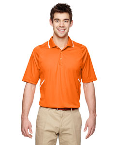 Amber Orange 477 Eperformance™ Men's Propel Interlock Polo with Contrast Tape