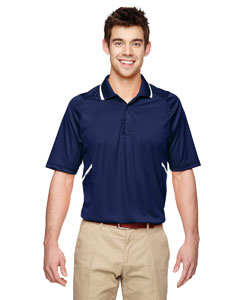 Classic Navy 849 Eperformance™ Men's Propel Interlock Polo with Contrast Tape