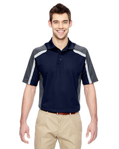 Classicnavy 849 Men's Eperformance™ Strike Colorblock Snag Protection Polo