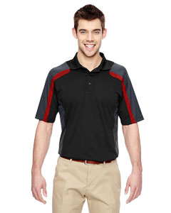 Blak/cl Red 874 Men's Eperformance™ Strike Colorblock Snag Protection Polo