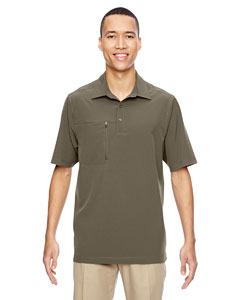Dk Oakmoss 487 Men's Excursion Crosscheck Performance Woven Polo