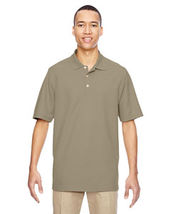 Stone 019 Men's Excursion Nomad Performance Waffle Polo