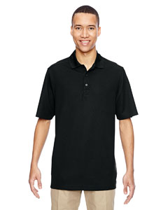 Black 703 Men's Excursion Nomad Performance Waffle Polo