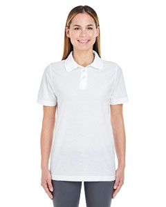 White Ladies' Whisper Piqué Polo
