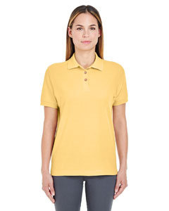 Yellow Ladies' Whisper Piqué Polo