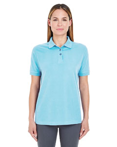 Baby Blue Ladies' Whisper Piqué Polo