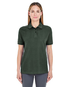 Forest Green Ladies' Whisper Piqué Polo