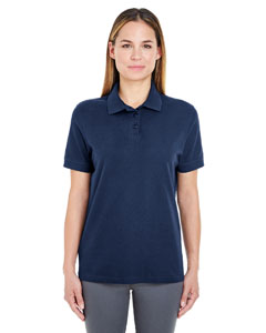 Navy Ladies' Whisper Piqué Polo