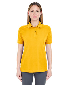 Gold Ladies' Whisper Piqué Polo