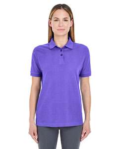 Purple Ladies' Whisper Piqué Polo