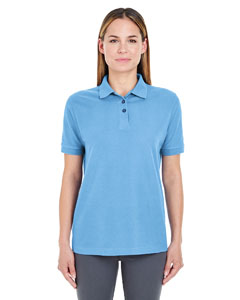Cornflower Ladies' Whisper Piqué Polo