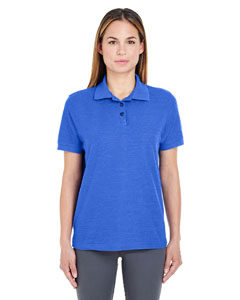 Royal Heather Ladies' Whisper Piqué Polo