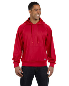 True Red Tech Fleece Pullover Hood