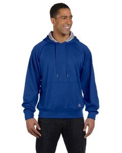 Royal/steel Tech Fleece Pullover Hood