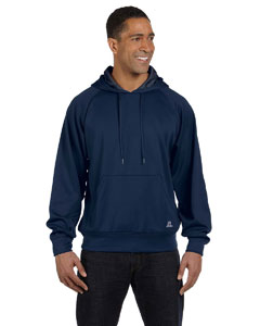 Navy Tech Fleece Pullover Hood