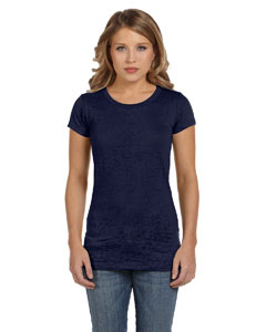 Navy Women's Burnout Short-Sleeve T-Shirt