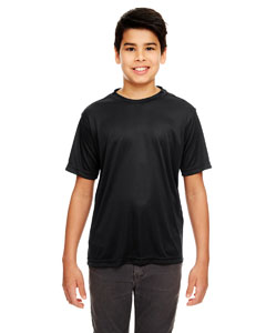 Black Youth Cool & Dry Basic Performance Tee