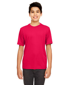 Red Youth Cool & Dry Basic Performance Tee