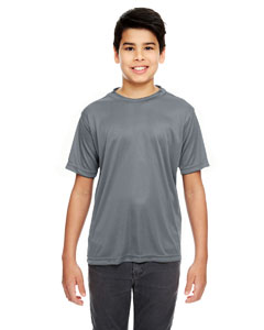 Charcoal Youth Cool & Dry Basic Performance Tee
