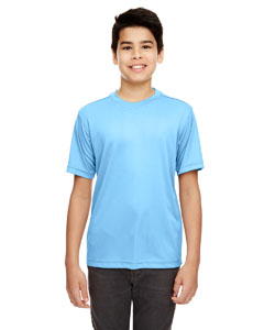 Columbia Blue Youth Cool & Dry Basic Performance Tee