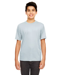 Grey Youth Cool & Dry Basic Performance Tee