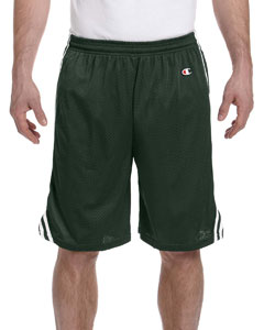 Athletic Dk Grn/wht 3.7 oz. Lacrosse Mesh Shorts