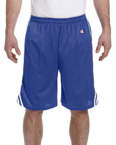Athletic Royal/wht 3.7 oz. Lacrosse Mesh Shorts