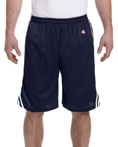 Navy/white 3.7 oz. Lacrosse Mesh Shorts