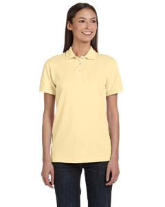 Yellow Haze Women's Ringspun Piqué Polo