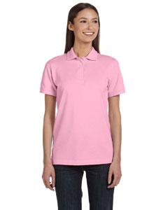 Charity Pink Women's Ringspun Piqué Polo