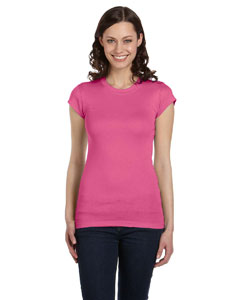 Very Pink Women's Sheer Mini Rib Short-Sleeve T-Shirt
