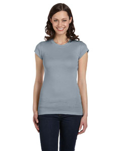 Granite Women's Sheer Mini Rib Short-Sleeve T-Shirt