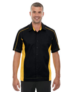 Blk/cmps Gld 464 Men's Tall Fuse Colorblock Twill Shirt