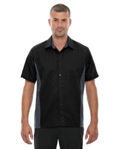 Black 703 Men's Tall Fuse Colorblock Twill Shirt