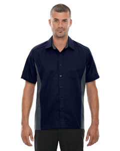 Classic Navy 849 Men's Tall Fuse Colorblock Twill Shirt