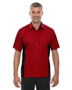 Classic Red 850 Men's Tall Fuse Colorblock Twill Shirt