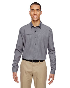 Navy 007 Men's Excursion F.B.C. Textured Performance Shirt