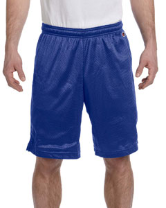Athletic Royal 3.7 oz. Polyester Mesh Shorts