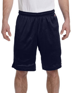 Navy 3.7 oz. Polyester Mesh Shorts