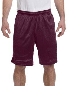 Maroon 3.7 oz. Polyester Mesh Shorts